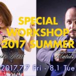 MATIAS & KUMI SPECIAL WS 2017 SUMMER 7/14,21,28 (Fri)