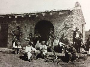 1866年ガウチョ達とパジャドール