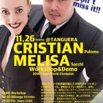 11.26 Mon Special Milonga&WS Cristian&Melisa