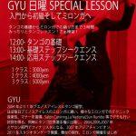 2.24 Sun Gyu日曜特別クラス 入門から初級そしてミロンガへ